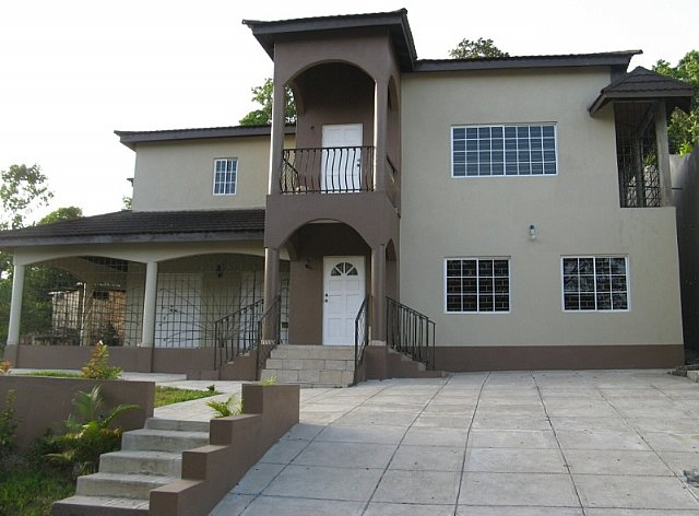 House for sale in stony hill kingston st andrew for Cost of building a house in jamaica