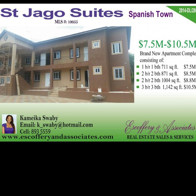 Apartment Ad: Apartment For Sale In Spanish Town, St. Catherine Jamaica