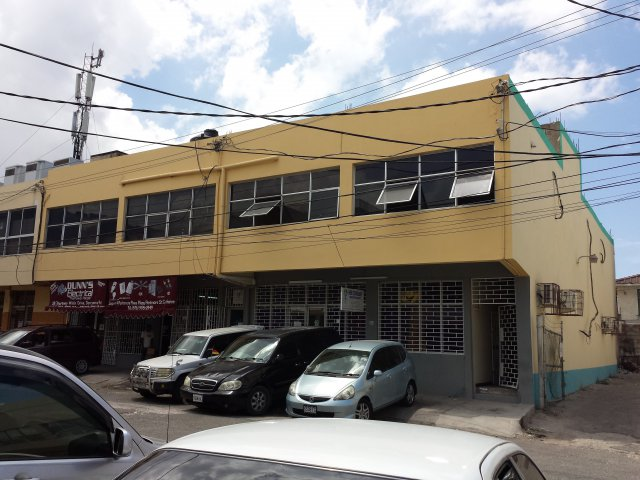 Commercial building for lease rental in half way tree for Cost of building a house in jamaica