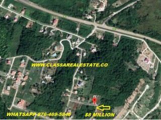 Residential lot For Sale in GREENSIDE, Trelawny, Jamaica