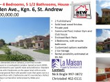 Clieveden Ave, Kingston / St. Andrew, Jamaica - House for Sale