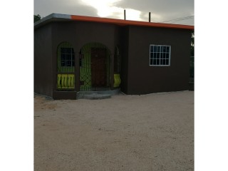 2 bed 1 bath House For Rent in Sandy Bay, Clarendon, Jamaica