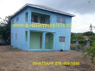 3 bed 2 bath House For Sale in LOT 8 RETREAT DISTRICT, St. Thomas, Jamaica