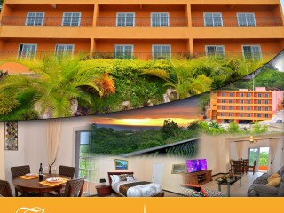 1 bed 1.5 bath Apartment For Sale in Upscale Ironshore, St. James, Jamaica
