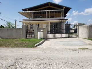 4 bed 2 bath House For Rent in Monticello, St. Catherine, Jamaica