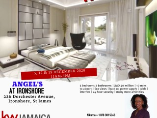3 bed 2 bath Apartment For Sale in Ironshore, St. James, Jamaica