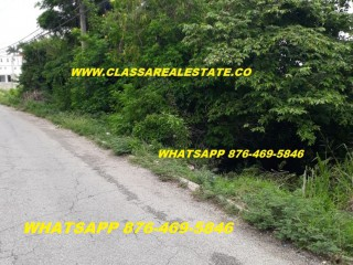 Residential lot For Sale in WESTGATE HILLS, St. James, Jamaica