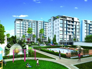 1 bed 2 bath Apartment For Sale in Kingston, Kingston / St. Andrew, Jamaica