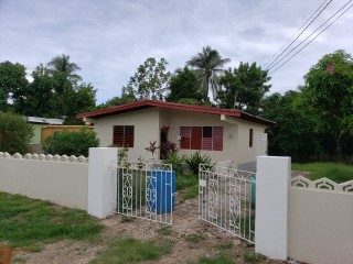 2 bed 1 bath House For Rent in Angels, St. Catherine, Jamaica
