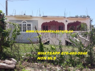 3 bed 2 bath House For Rent in LILLIPUT, St. James, Jamaica
