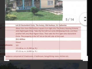 3 bed 2 bath House For Sale in Gutters, Clarendon, Jamaica