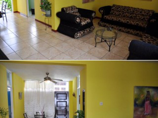 2 bed 1.5 bath Townhouse For Rent in New Kingston, Kingston / St. Andrew, Jamaica