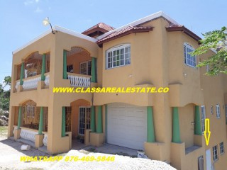 2 bed 1 bath Apartment For Rent in GREENWOOD, St. James, Jamaica