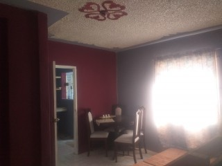 2 bed 1 bath House For Rent in Silverstone, St. Catherine, Jamaica
