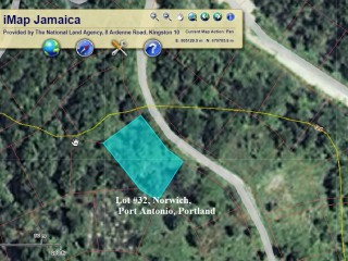 Port Antonio, Portland, Jamaica - Residential lot for Sale