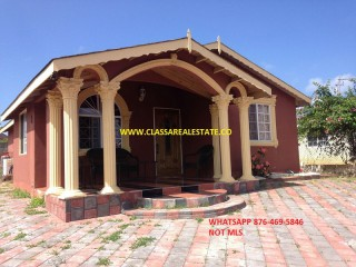 FALMOUTH, Trelawny, Jamaica - House for Lease/rental